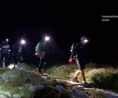 Polacy sprowadzeni z Gerlacha przez słowackich ratowników