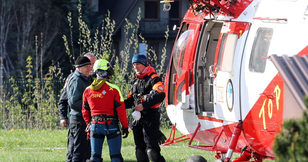 Nieprzygotowani turyści w Tatrach. Na Szpiglasowej Przełęczy doszło do groźnego wypadku